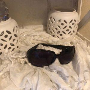 Black Calvin Klein glasses